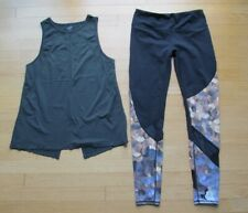 Athleta Two Athletic Workout Clothing Top & Leggings Women's Size Small