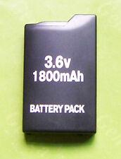 1800mah Rechargeable Battery for Sony PSP-110 PSP1000 1001 Black