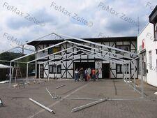 10mx12m Traufe 2,25 m / Festzelt Partyzelt Profizelt in Dach blau PVC LKW Plane