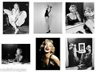 MARILYN MONROE photoprint, iron on transfer or sticker, 12 choices of picture