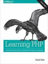 LEARNING PHP - SKLAR, DAVID - NEW PAPERBACK BOOK