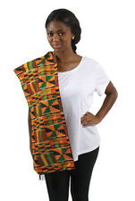 African Premium Kente Scarf/Table Runner #2 | Unisex (Multi-Color)