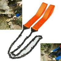 Portable Rope Chain Saw Travel Outdoor Emergency Hand J0E2 Chain Garden W3Y F5Y3