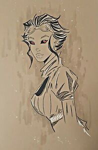 Lady Mechanika Original Artwork 11x17