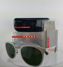Novo em Folha Autêntica Prada Sps 04S VHH-1I0 óculos de sol armação cinza  53mm 6227eed373