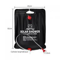 20L Portable Solar Energy Heated Shower Bathing Bag Camping Traveling Foldable
