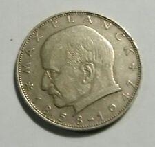 """1858-1947.F GERMANY 2 DEUTSCHE MARK COIN, """"BUNDESREPUBLIK DEUTSCHLAND"""" .1960"""
