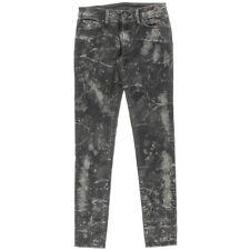 NEW Womens Denim & Supply Ralph Lauren Edmondson Black Skinny Jeans AU10 W28 L32