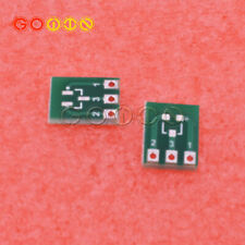50PCS New Double-Side SMD SOT23-3 to DIP SIP3 Adapter PCB Board DIY Converter