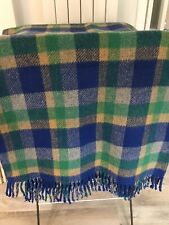 More details for holytex vintage checked welsh wool blanket