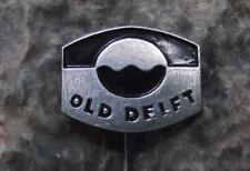 Vintage Old Delft SLR Camera Lens Holland Oldelft Groep Optical Firm Pin Badge