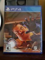 Hello Neighbor No Title Misprint (Sony PlayStation 4, 2018)