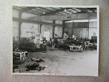 Ih International Crawler Tractor Mechanic Service Shop Stock Photo 10x8