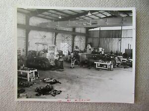 "IH International crawler tractor mechanic service shop stock PHOTO 10x8"""