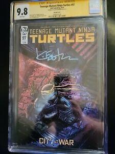 TMNT 97 🐢 Kevin Eastman autograph Variant Turtles CGC Signature Series 9.8