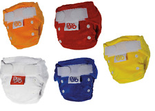 10 x quick drying reusable nappies (7-16lbs) CHOOSE YOUR COLOURS (50% DISCOUNT)