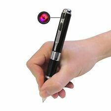 HD 1080P SPY PEN CAMERA VIDEO DVR COVERT hiddent discreto di registrazione