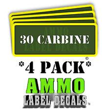 30 CARBINE Ammo Label Decals Ammunition Case 3