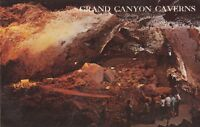 "*Arizona Postcard-""Grand Canyon Caverns"" (Chapel of The Ages) ...Dinosaur City/"