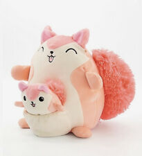 Kellytoy squirrel pocket plush squishmallow