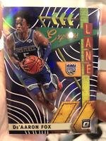 2019-20 Panini Donruss Optic Express Lane Purple De'Aaron Fox #19 NBA QTY