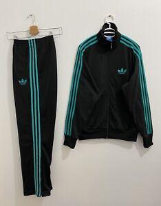 Adidas Originals ADI-Firebird Tracksuit Black Teal Size M