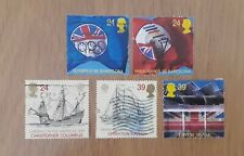 Complete used GB stamp set - 1992 International Events