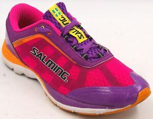 Salming Distance D1 Women's Pink/Purple Performance Running Walking Shoes Sz 9 M
