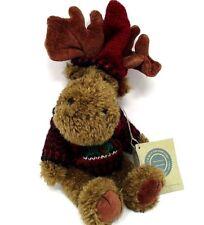 Boyds Bears Christmas Moose Stuffed Plush Animal