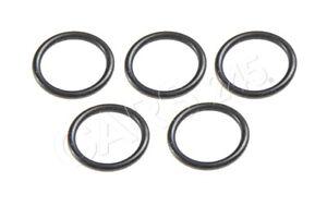 Genuine Radiator Gasket Rings x5 pcs BMW Z3 E30 E34 E36 E39 316g 17111712966