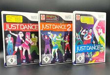 Spiele Paket Set: JUST DANCE 1-3 (1 + 2 + 3) für die Nintendo Wii