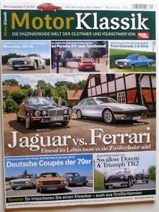 MOTOR KLASSIK 9-16+FERRARI 400 GT+JAGUAR XJ-C+BMW M5+AUDI+MERCEDES+SWALLOW+TR 2