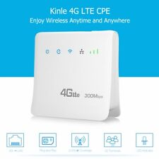 Kinle 4G LTE CPE Mobile WiFi Router 300Mbps Hotspot Modem Network Adapter SIM