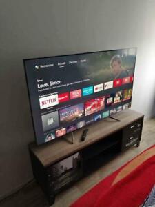 Télévision 4k haute technologie 2021