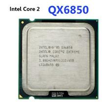 Intel Core 2 Extreme QX6850 3 GHz Quad-Core CPU Processor SLAFN LGA 775 RLIT