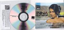 INNA SUN IS UP RARE 1 TRACK PROMO CD