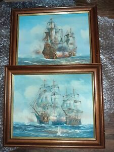 Pair Of Oil Paintings