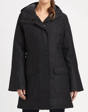 CANADA GOOSE BRANTA LADIES TORINO COAT NAVY HEATHER WOOL SIZE LARGE UK 14 NEW
