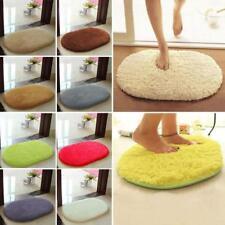 Antideslizante Fluffy Shaggy Area Alfombra Home Dormitorio Baño Floor Door Mat