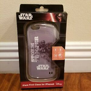 New Disney STAR WARS Storm Trooper iFace First Class Hard Case for iPhone 6