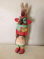 """1950s Era Hand Carved Hand Painted Kachina Doll 20"""" Tall Native American"""