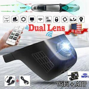 Wifi Hidden Car DVR HD 1080P Vehicle Camera Video Recorder G-Sensor Dash Camera