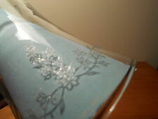 Clear Etched Tiny Flowers Votive Cups Lot of 2 Vintage Home Interiors