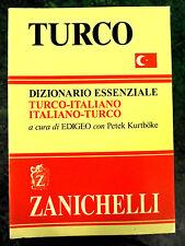 Vocabolario Dizionario Essenziale di TURCO Editore Zanichelli  NUOVO Compatto