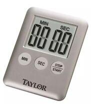 TAYLOR 5842N15 Mini Timer LCD Display Gray