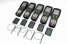 LOT OF 5 LXE HONEYWELL MX9 MX9A1D1B1D1A0US LORAX CE5.0 BARCODE SCANNER