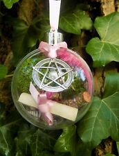 Witch Ball Ornament Pagan Boxed Gift  Love Spell Kit