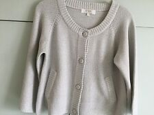 S'NOB Size Large Sulver/ Grey Cardigan New without tags