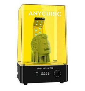 ANYCUBIC Wash & Cure PLUS Machine, 2-in-1 UV Washing and Curing Machine