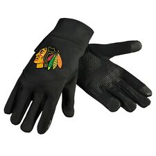 Chicago Blackhawks Neoprene Gloves Sports Logo Winter NEW Texting Tips High End